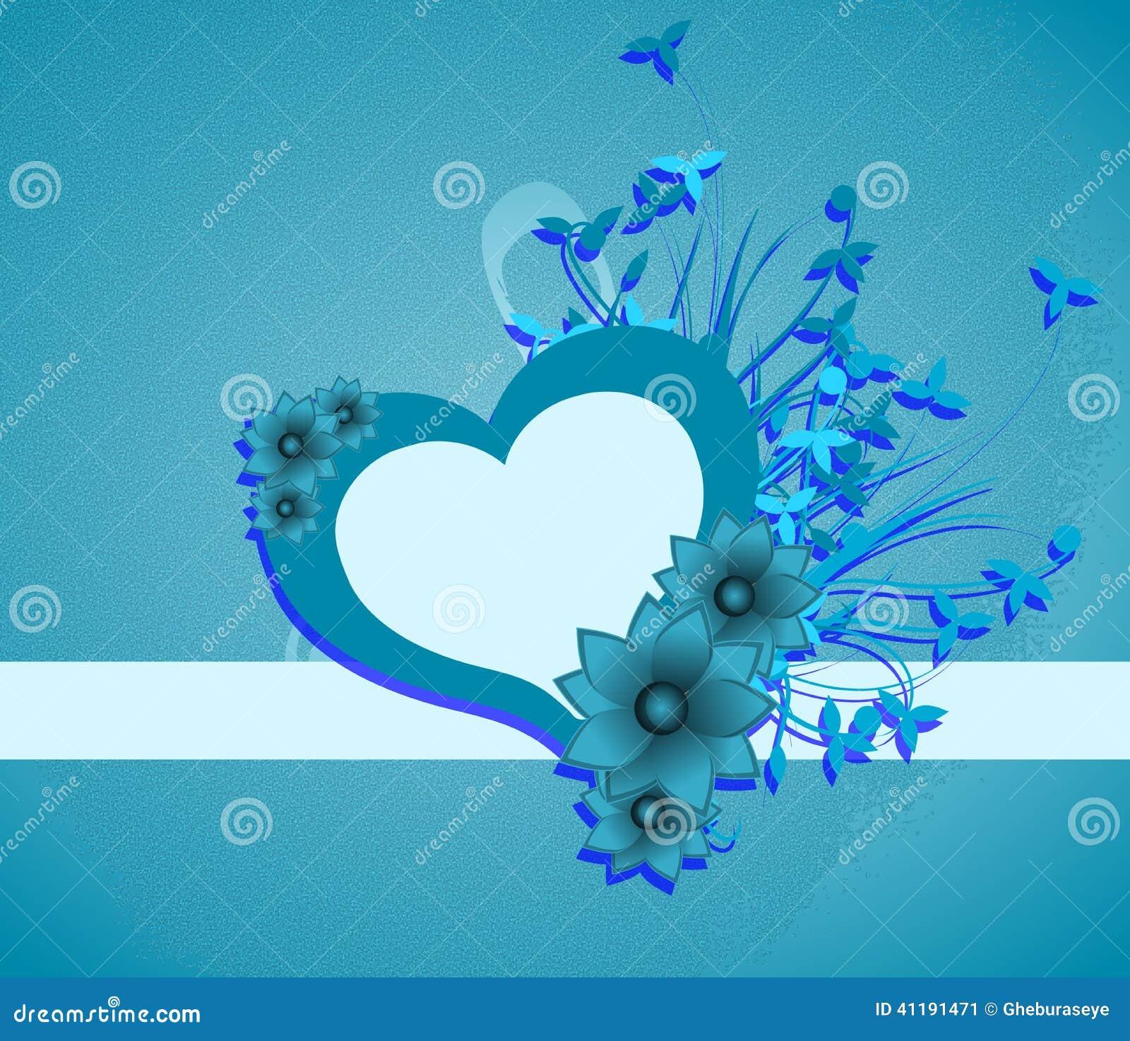 Fond avec le coeur d cor des fleurs et des feuilles - Coeur avec des photos ...