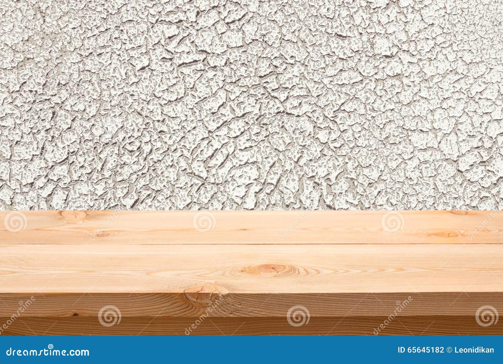 Fond avec une table vide