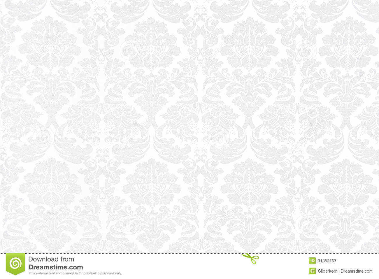 Fond baroque blanc image stock image du wallpaper blanc - Barock wallpaper ...
