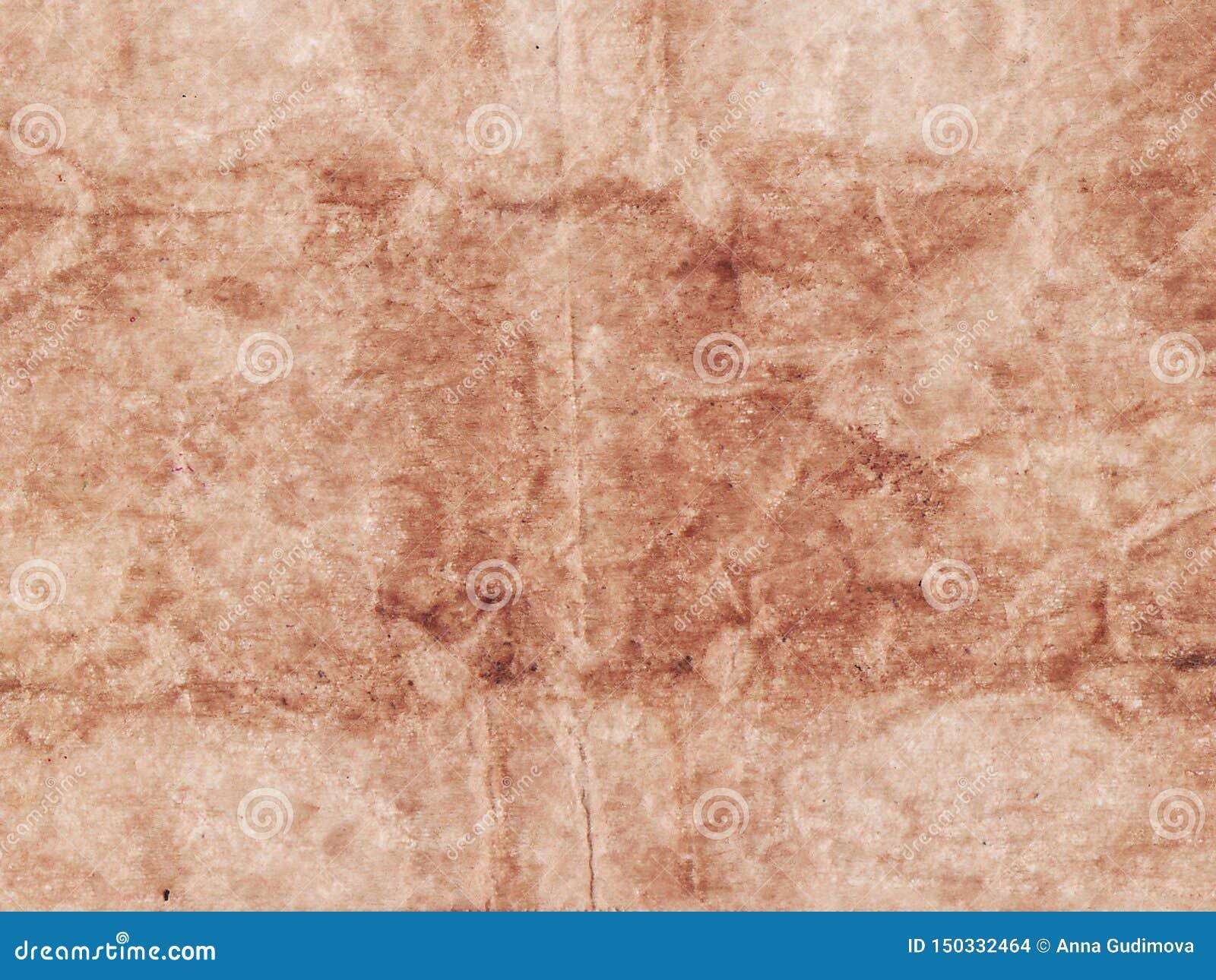 Fond beige feuille de papier texturisée de résumé de vieille Copiez l espace
