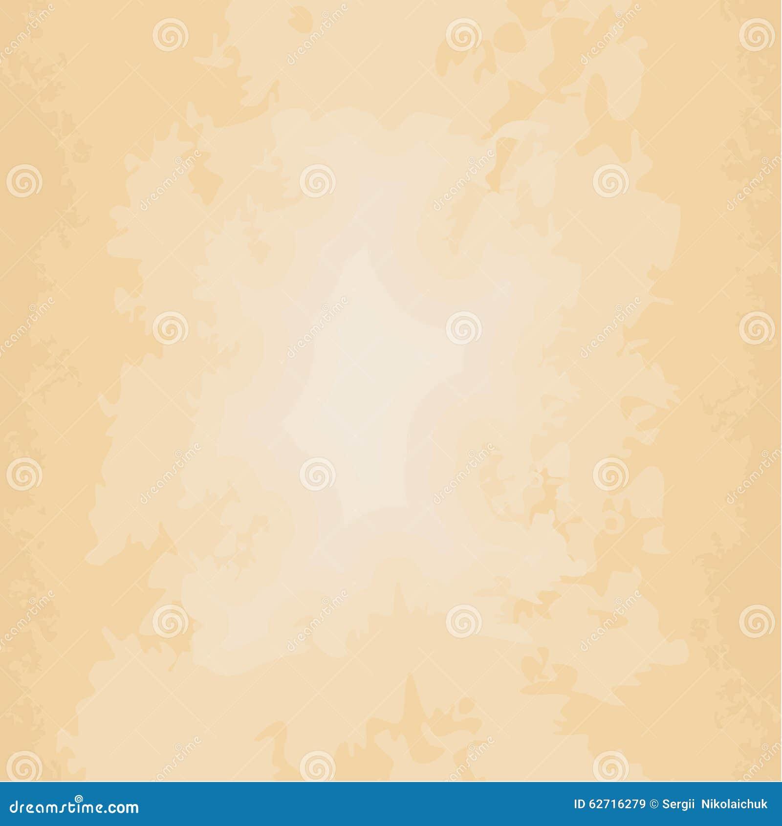 fond beige  vieux papier sale illustration de vecteur