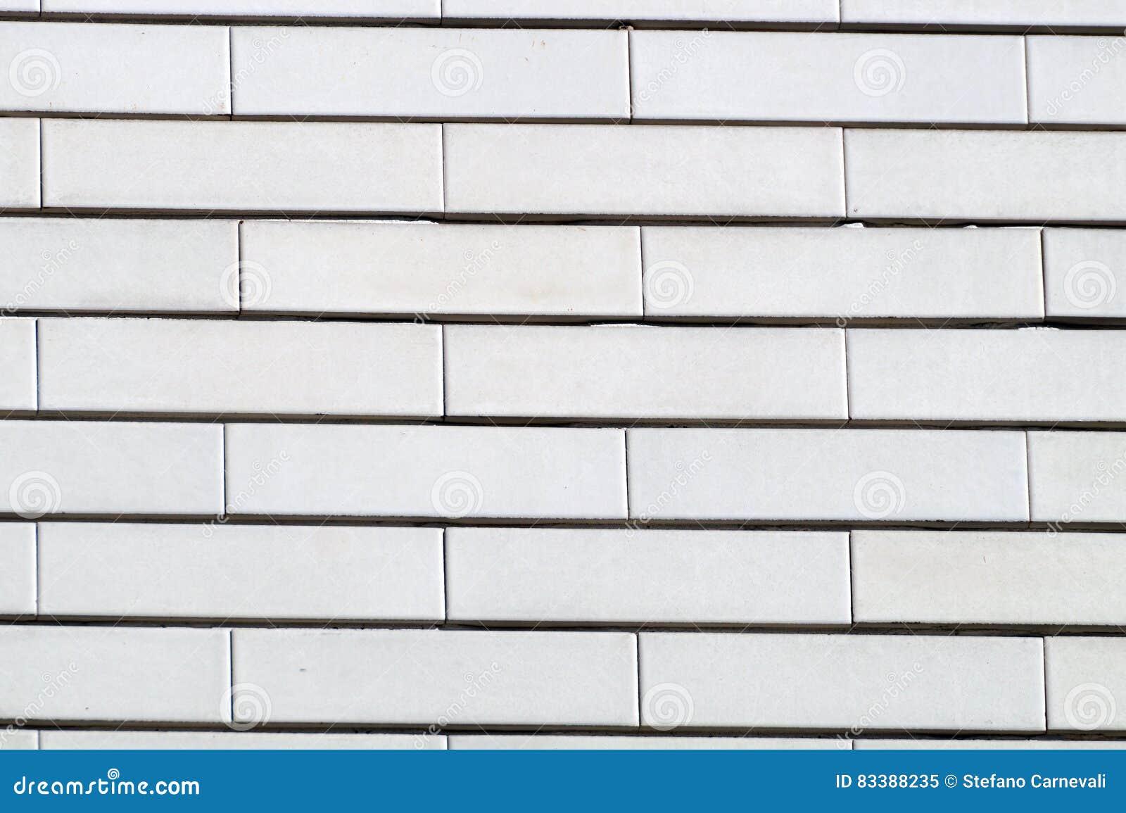 Fond Blanc De Mur De Briques Gris Gris Peinture Propre