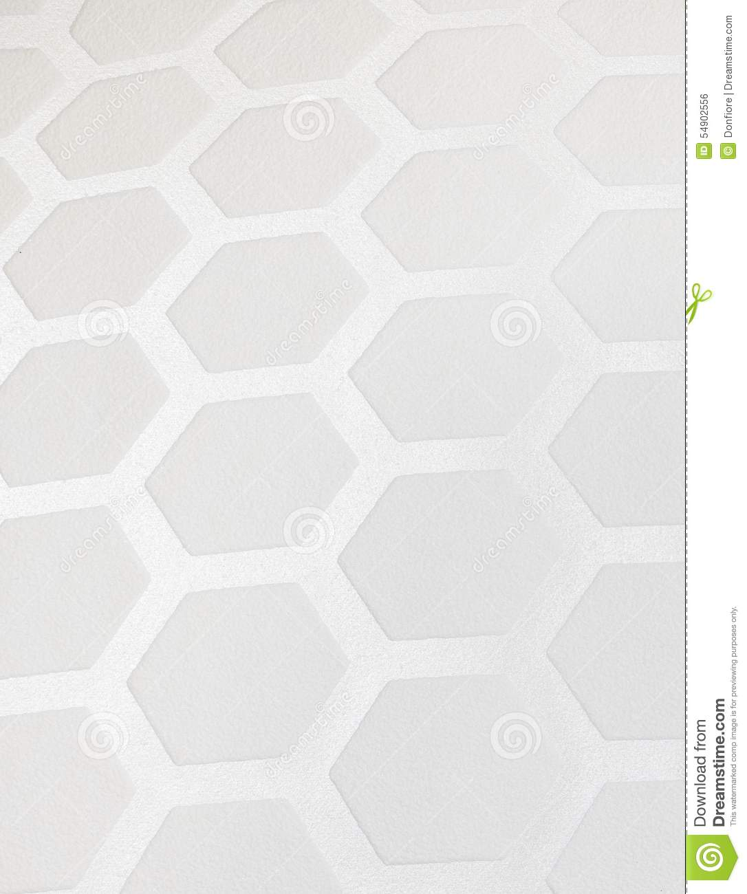 Fond Blanc De Papier Peint De Modele D Hexagone Photo Stock Image