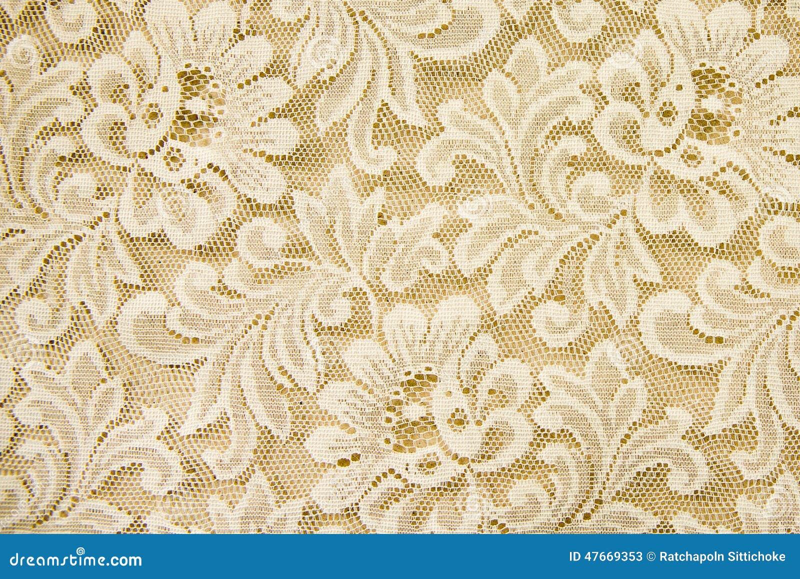 Fond Blanc De Texture De Dentelle Photo stock - Image: 47669353