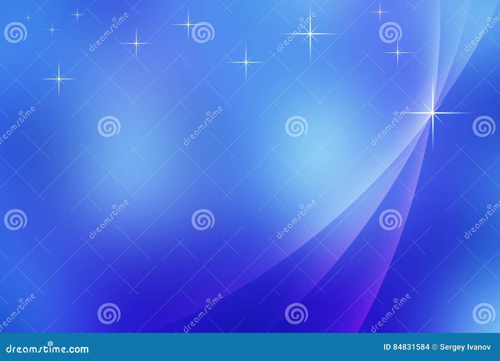 Fond bleu abstrait