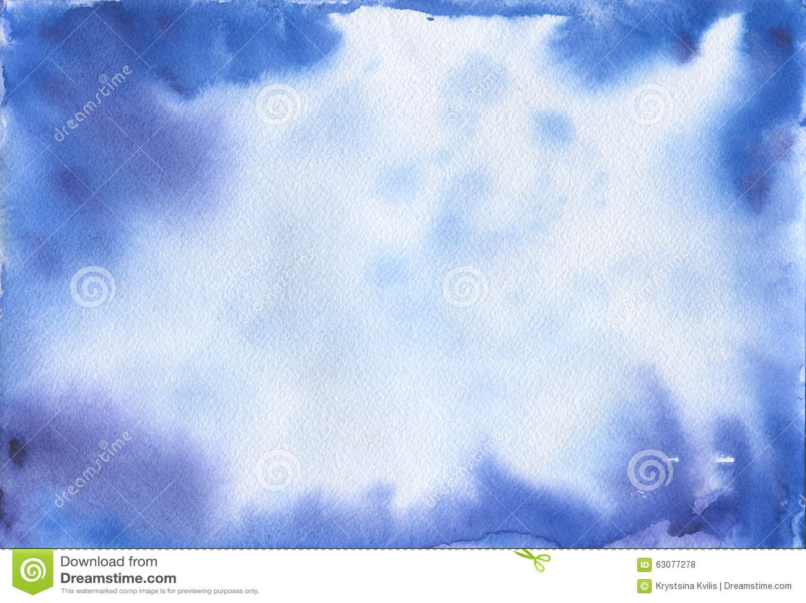 Download Fond Bleu Abstrait D'aquarelle L'espace Illustration Stock - Illustration du abstrait, balayé: 63077278