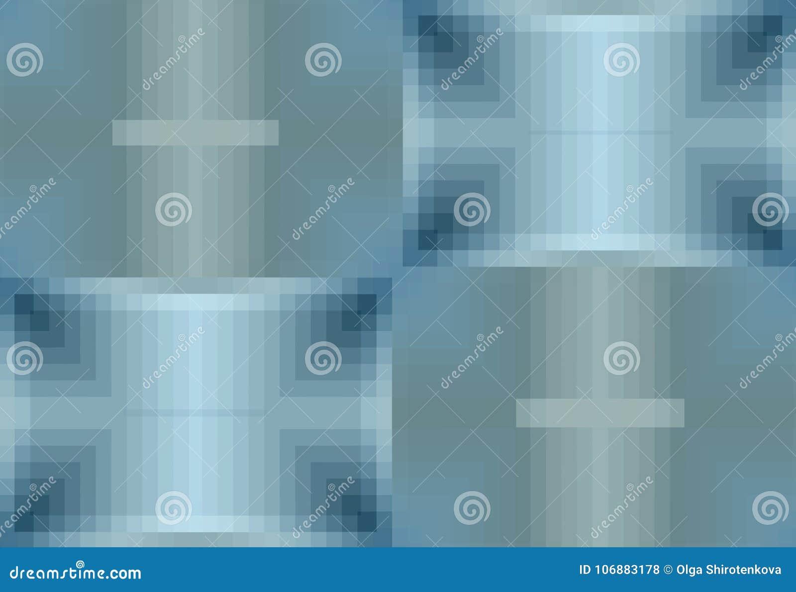 Fond Bleu Abstrait Modèle à Carreaux De Place Configuration