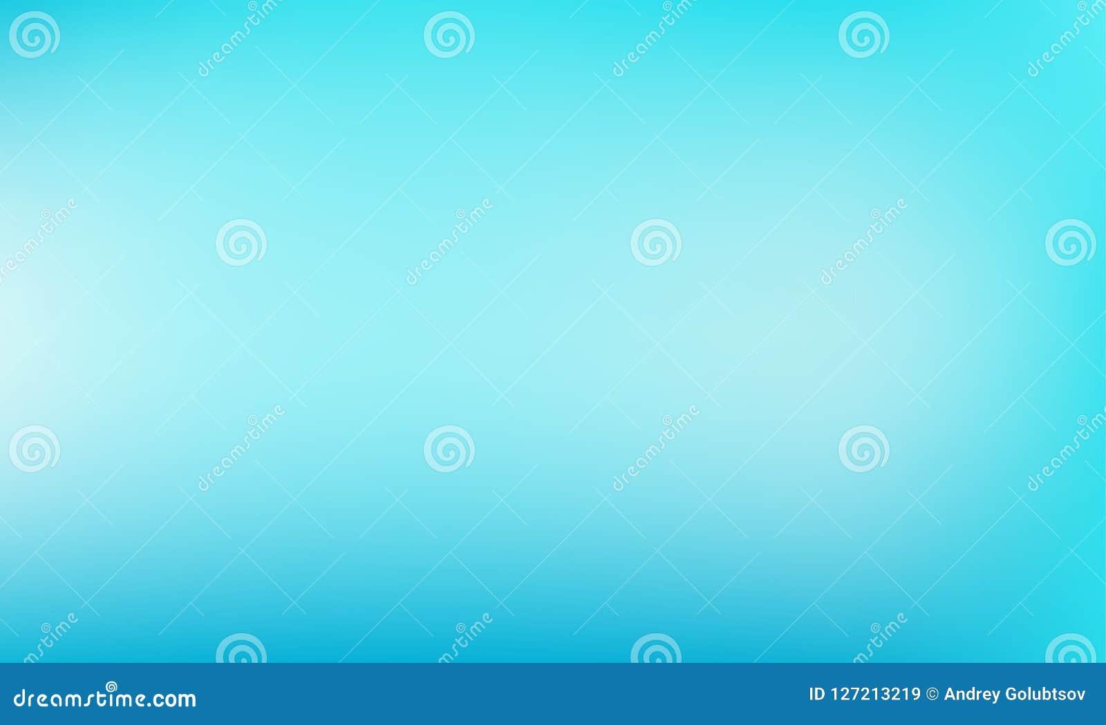 Fond bleu-clair Contexte verdâtre-bleu en pastel de couleur de turquoise de vecteur de résumé