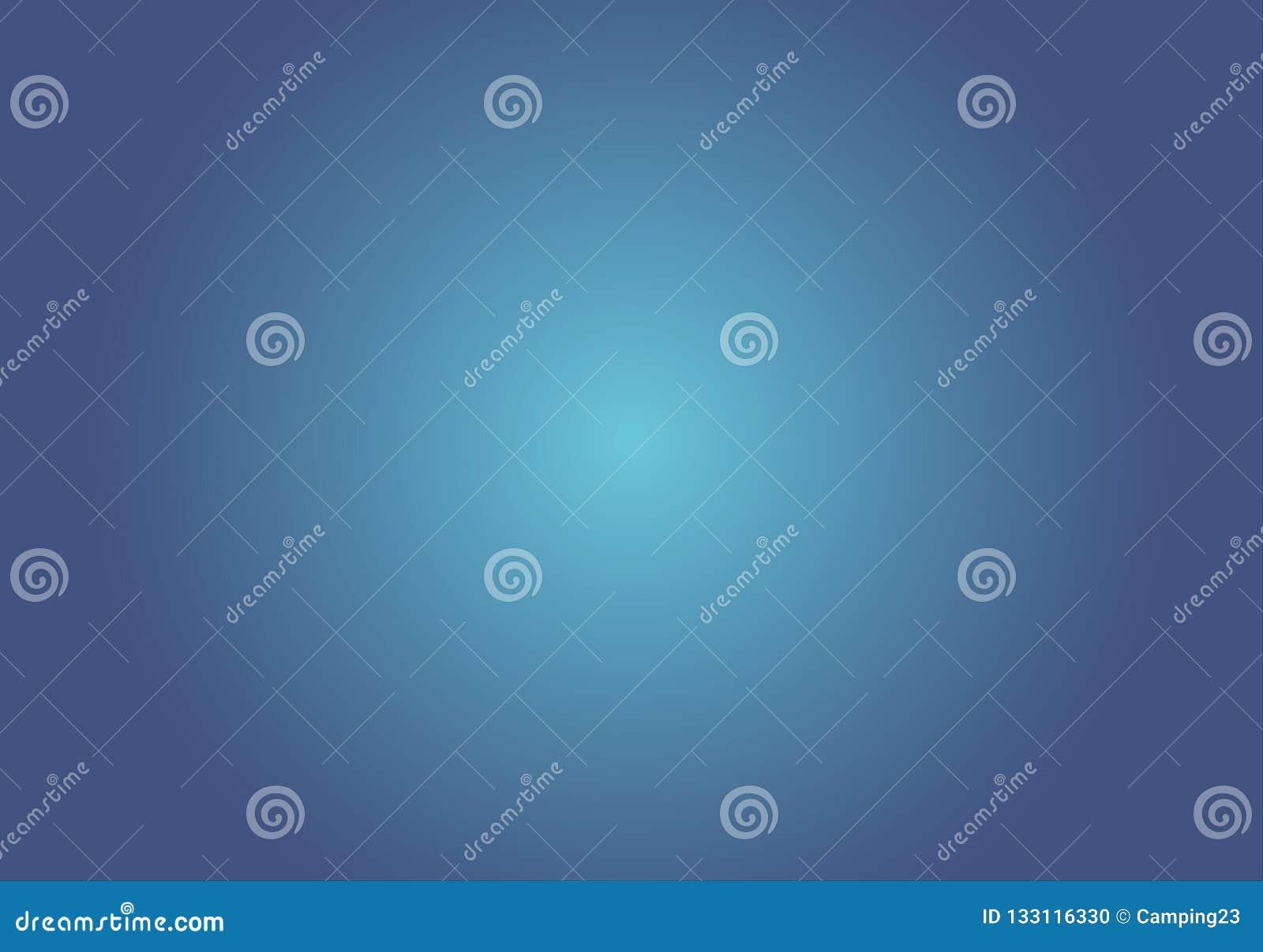 Fond bleu de couleur de gradient, illustration