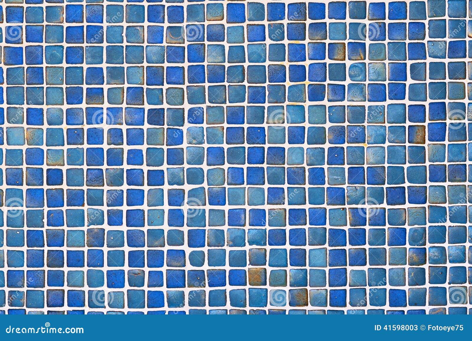 Fond bleu en c ramique de mur de tuile photo stock image for Carreau bleu mur salle de bain marseille