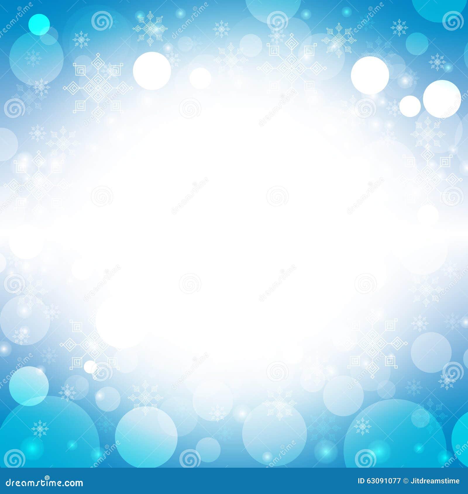 Download Fond Bleu Profond De Noël Avec Les Flocons De Neige Blancs Illustration de Vecteur - Illustration du joyeux, éclaille: 63091077