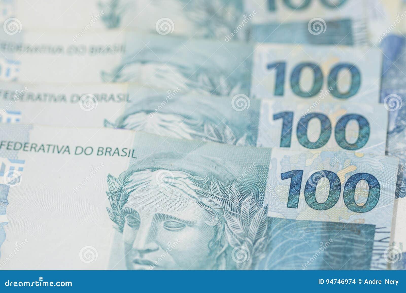 Fond brésilien d argent Les factures ont appelé Real