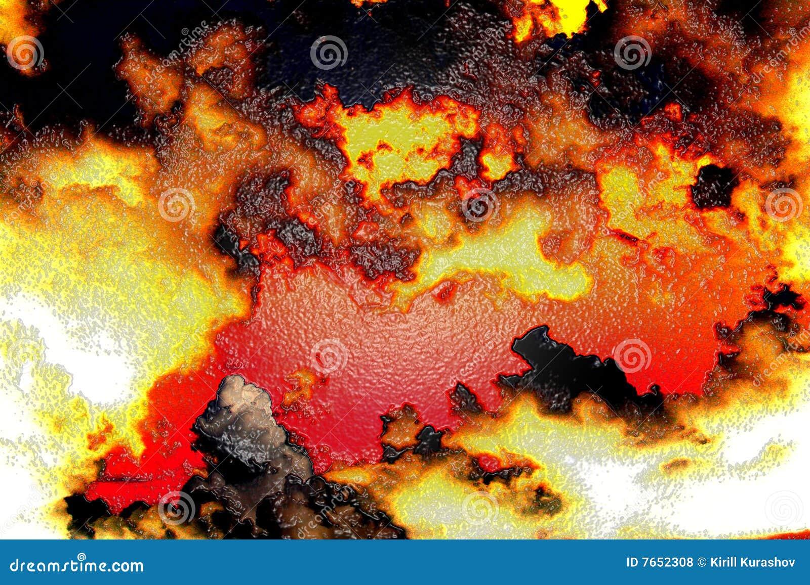Fond br l photos libres de droits image 7652308 - Fond de casserole brule ...