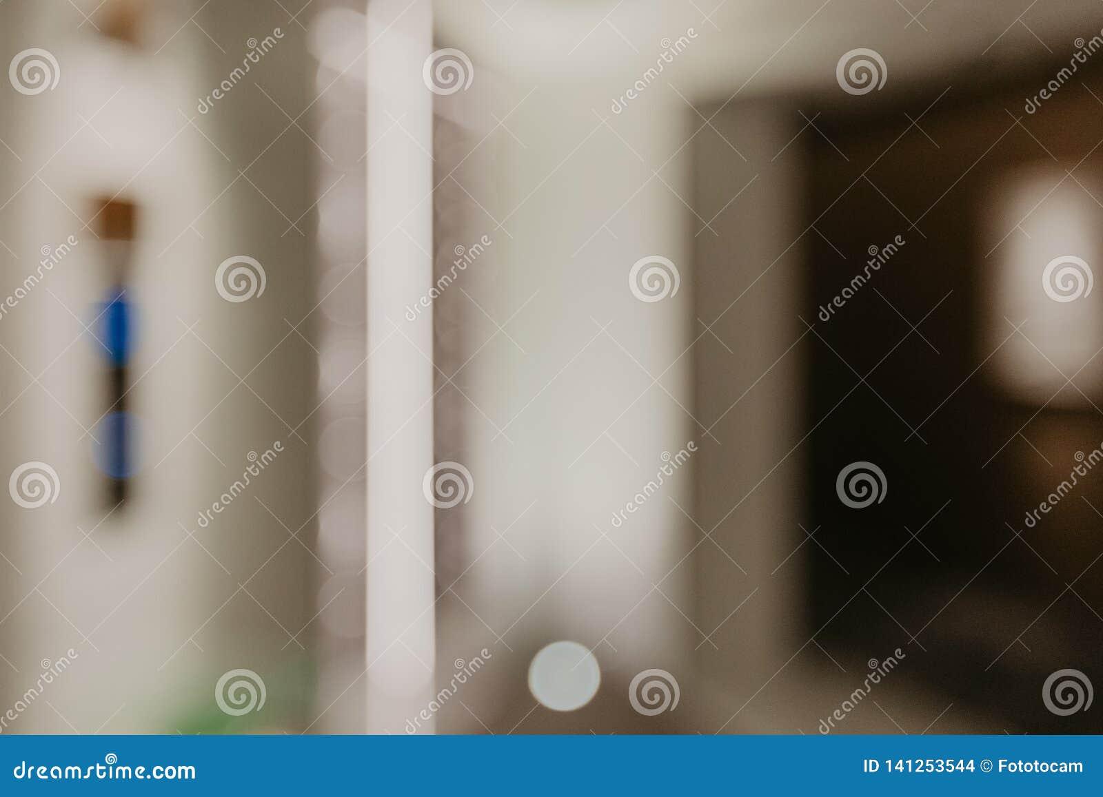 Fond brouillé de couloir
