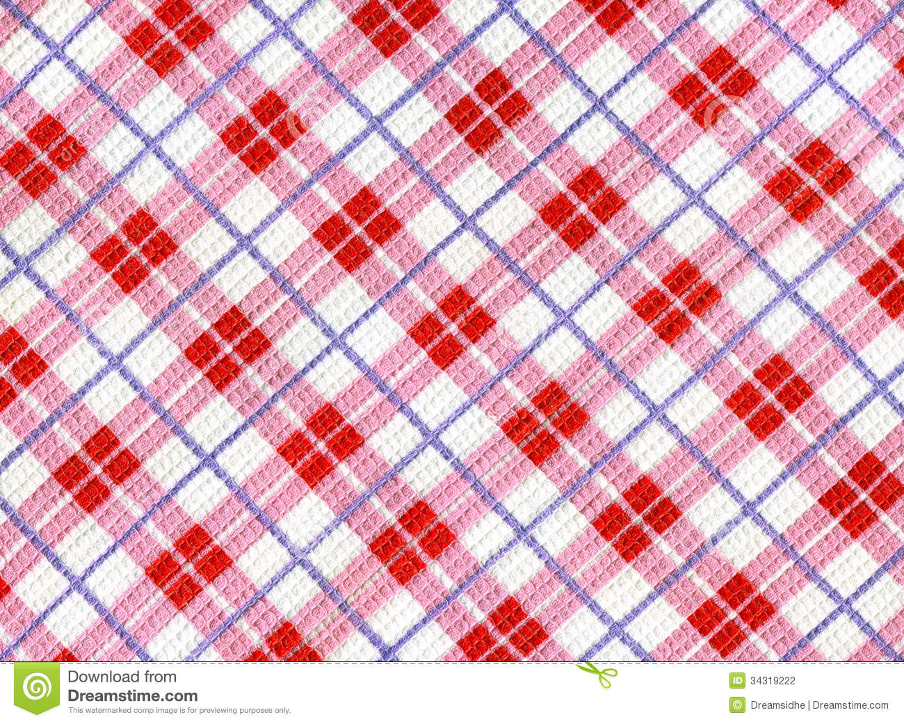 Fond carreaux de torchon photographie stock image for Magasin le torchon a carreaux