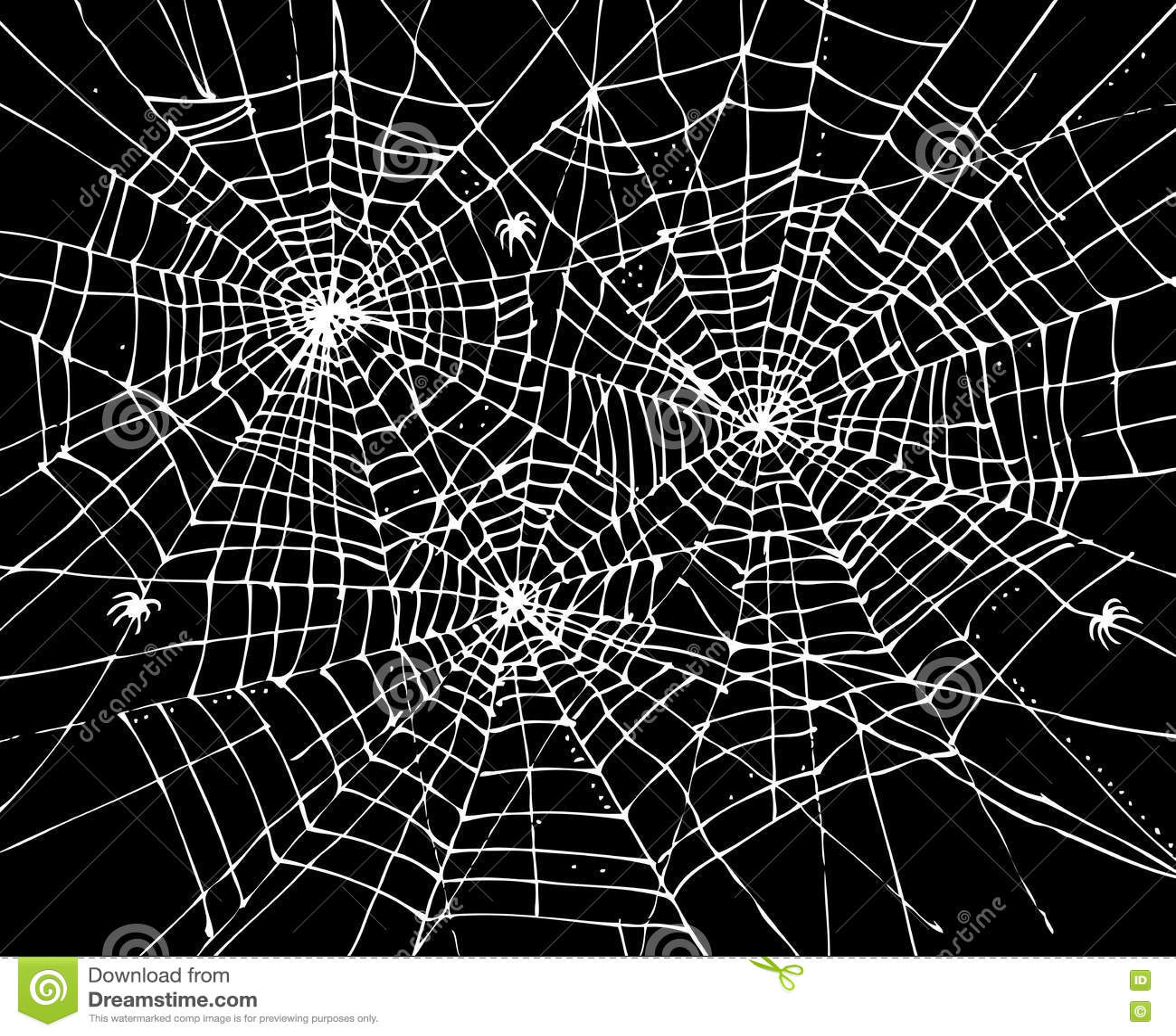 Fond CCCVII de Web de Halloween