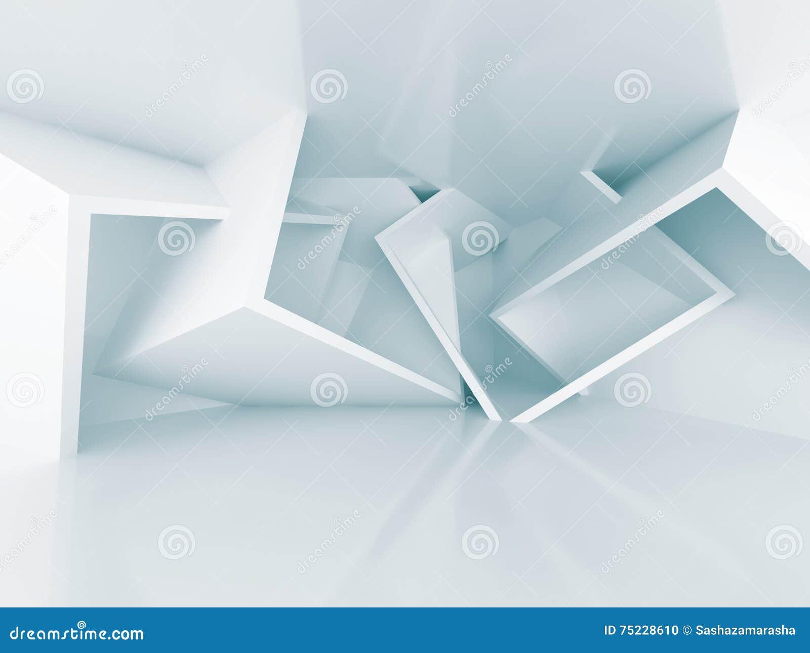 Fond chaotique d 39 int rieur d 39 architecture de dessin for Architecture geometrique