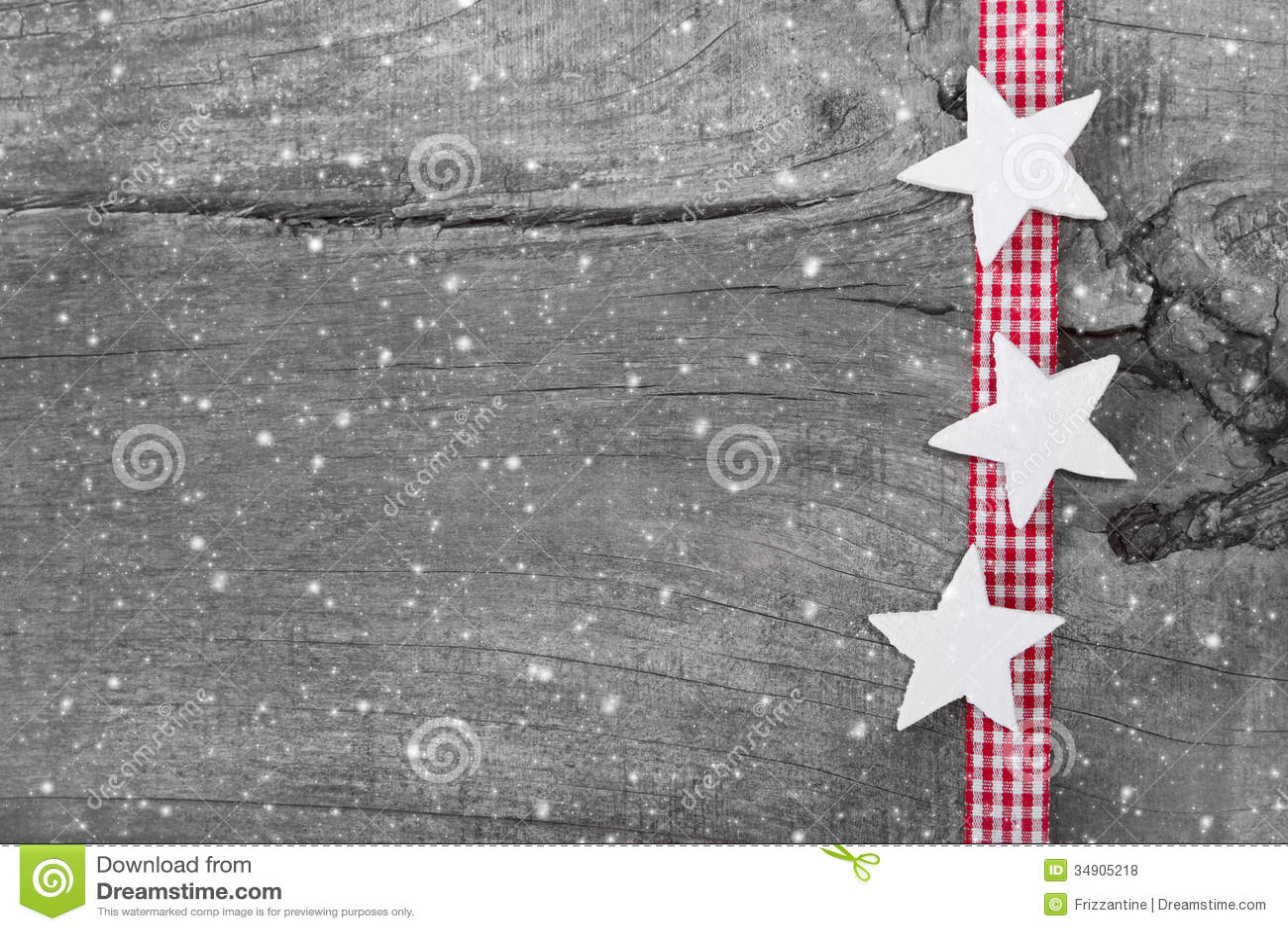 Fond chic minable de Noël en le gris, le blanc et le rouge pour un ch