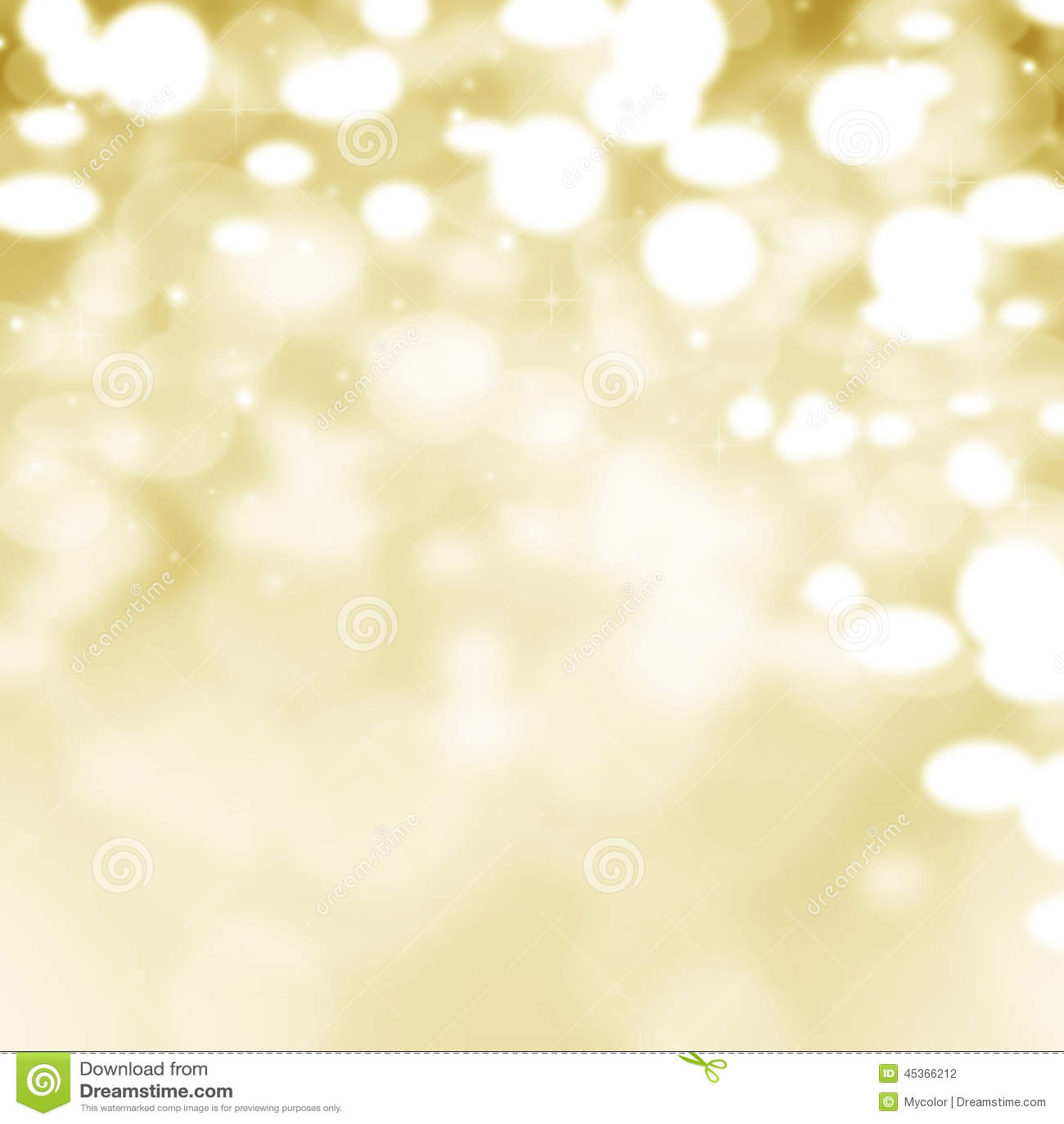 Fond clair abstrait d or