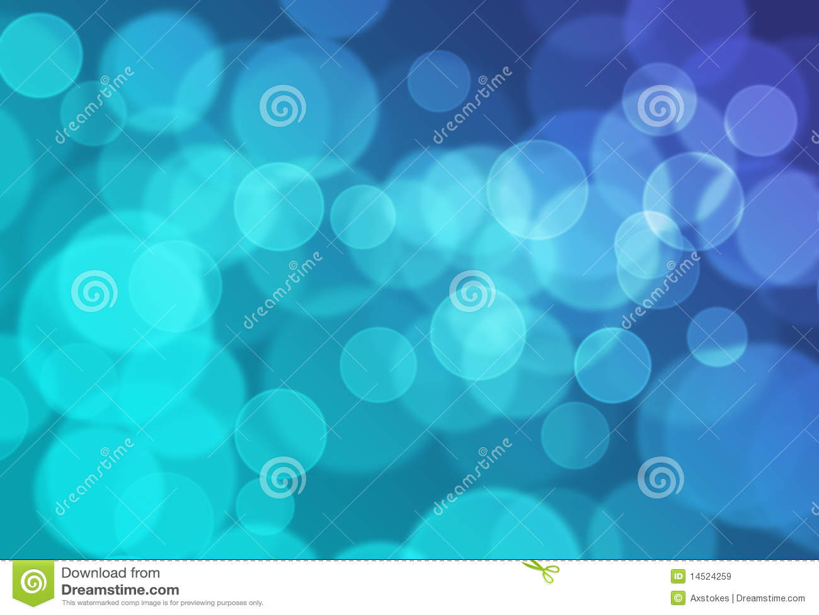 Fond clair bleu de Bokeh