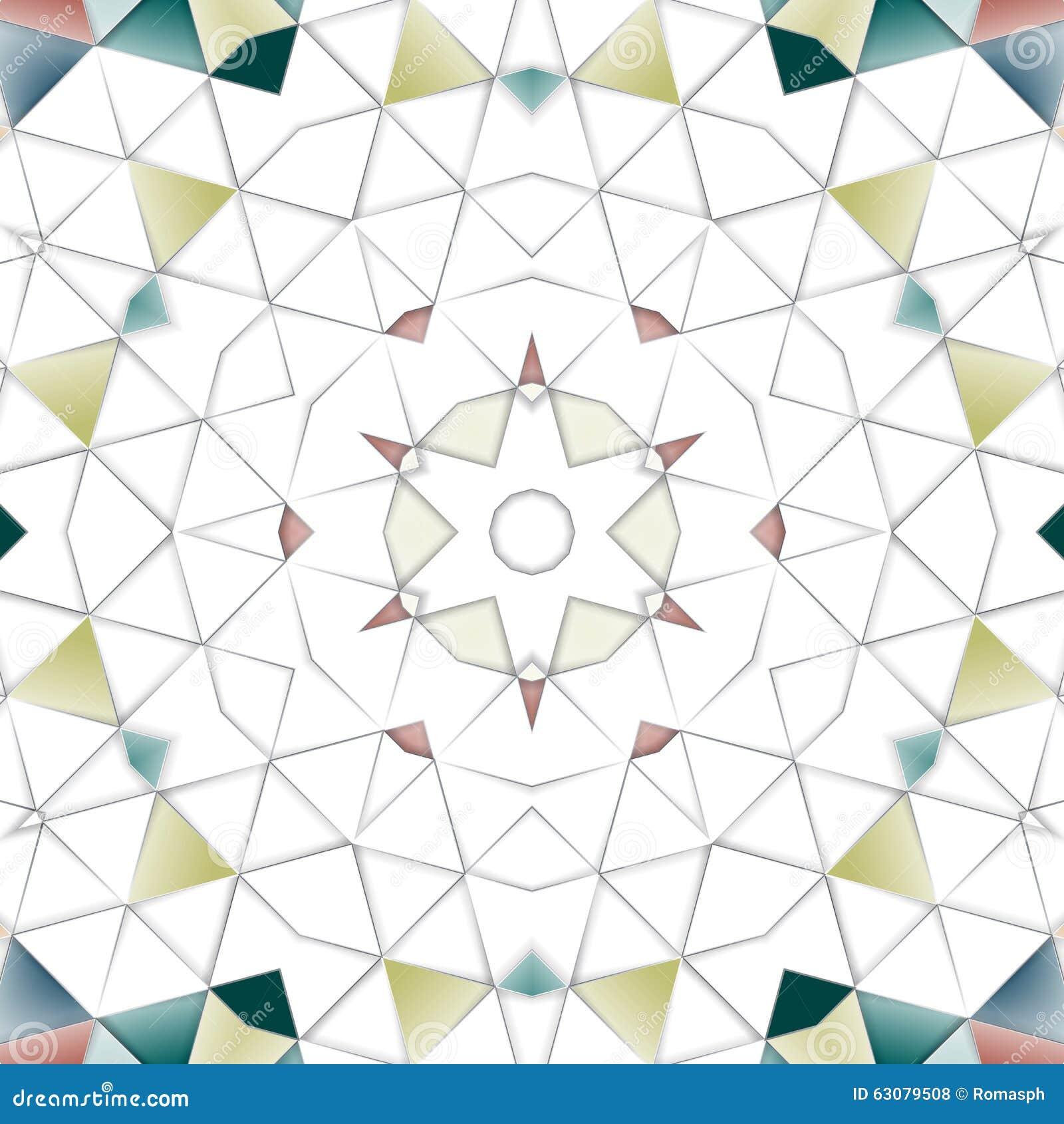 Download Fond coloré abstrait photo stock. Image du ethnique, ceramic - 63079508