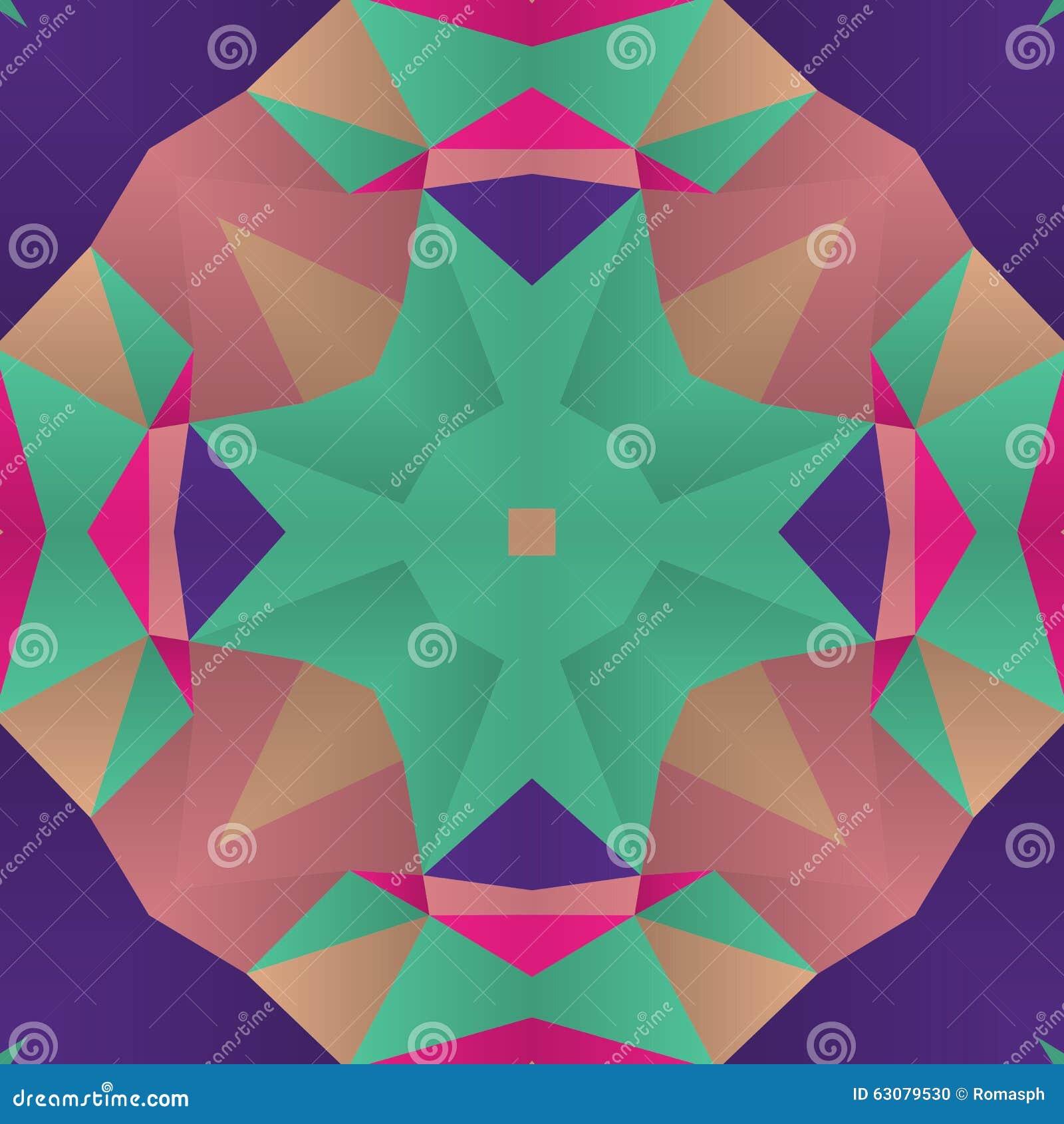 Download Fond coloré abstrait illustration de vecteur. Illustration du geometry - 63079530