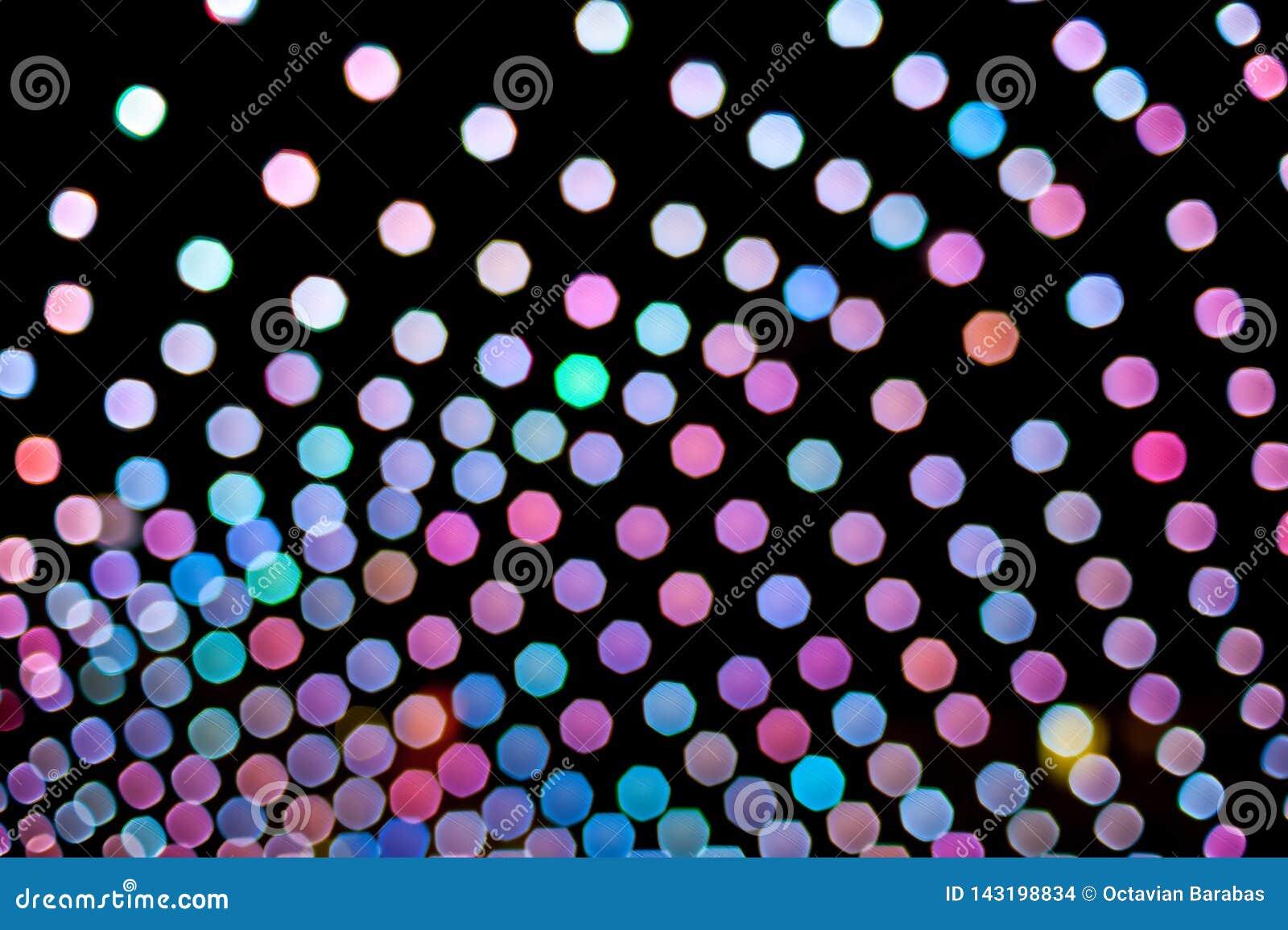 Fond coloré abstrait fait de lumières brouillées