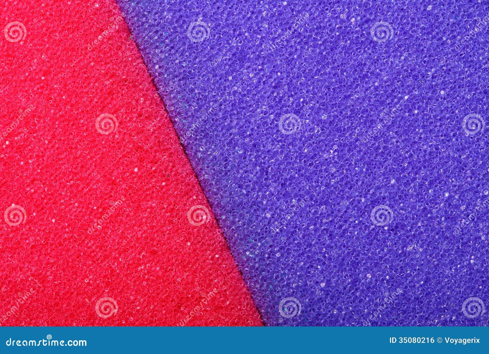 Fond coloré d éponge de mousse de cellulose de texture