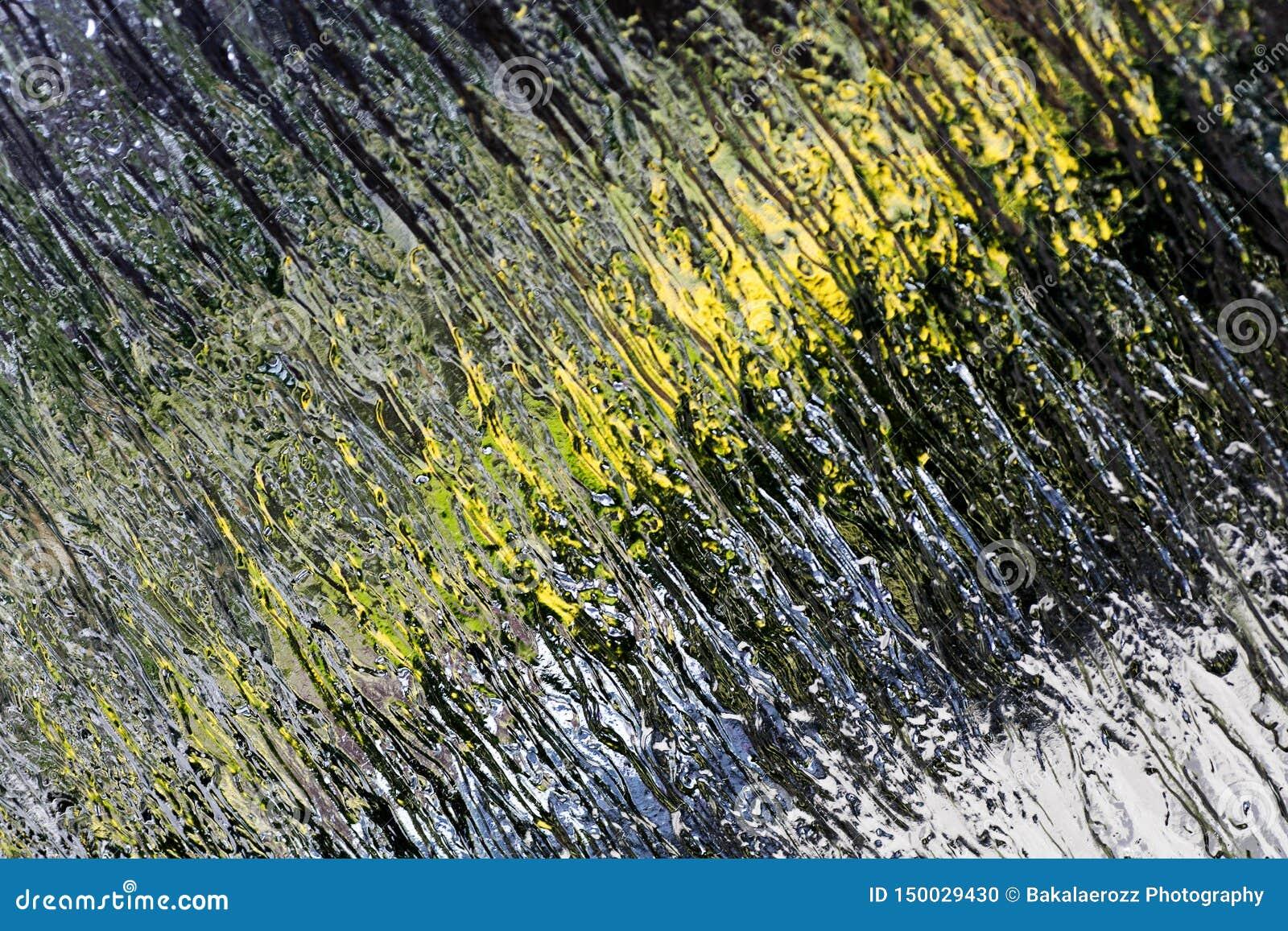 Fond coloré extérieur d abrégé sur fenêtre macro de haute qualité