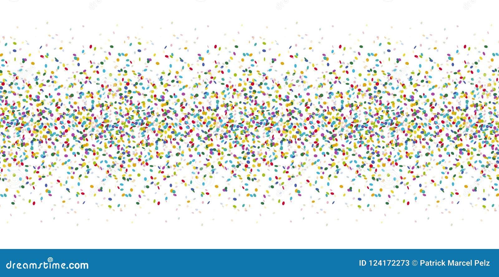 Fond coloré sans couture de confettis