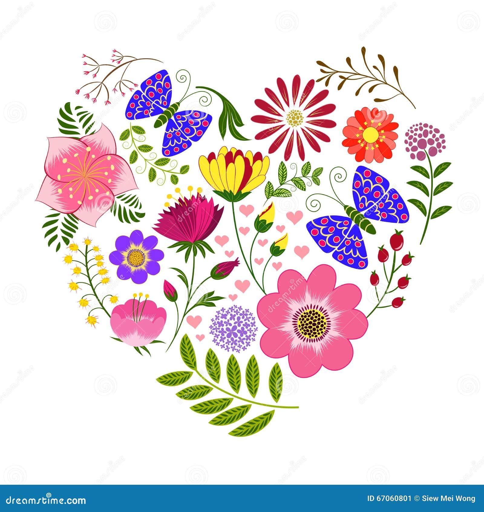 Fond color de fleur et de papillon de printemps - Image papillon et fleur ...