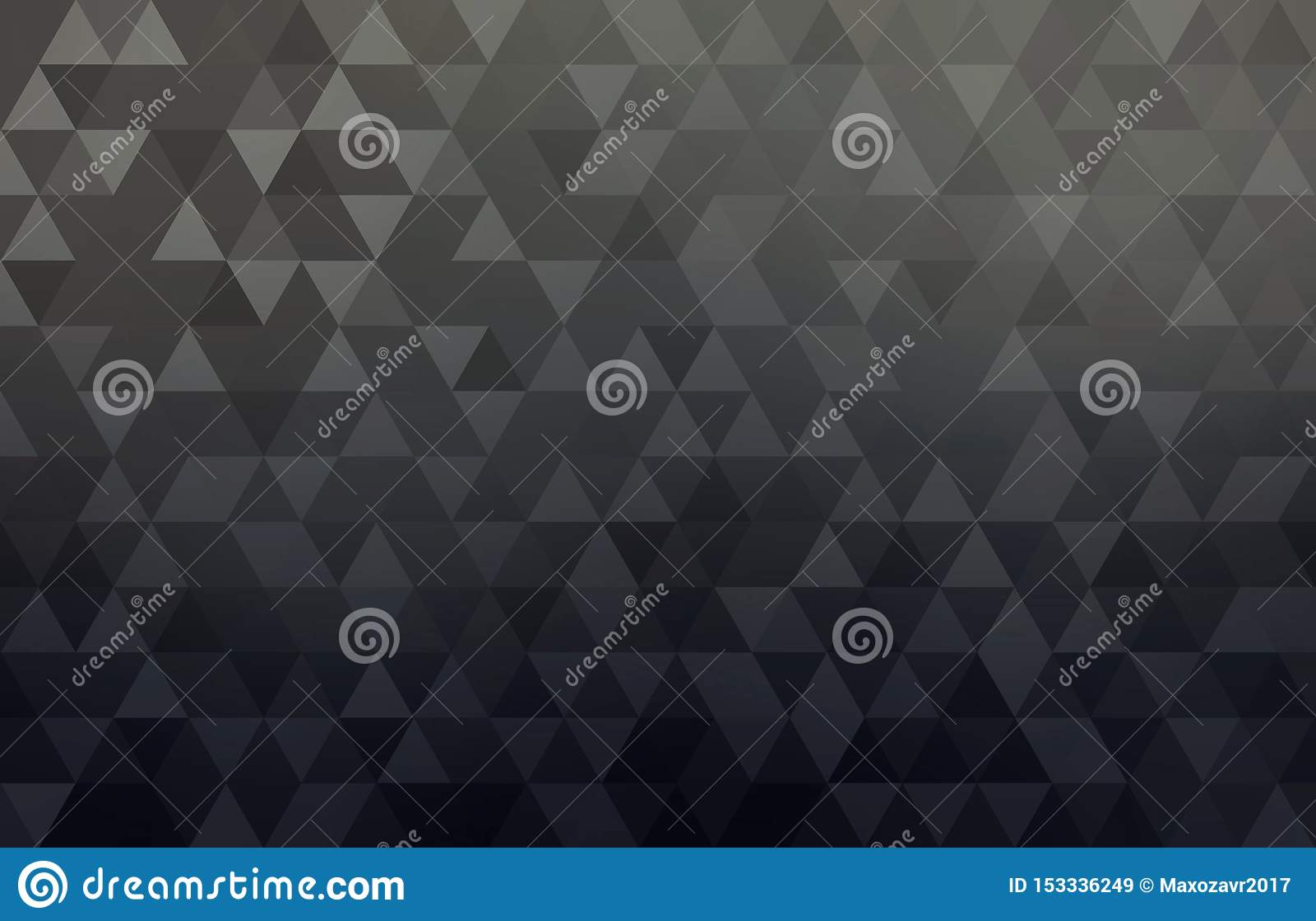 Fond conceptuel géométrique noir d abrégé sur affaires Modèle triangulaire simple de formes