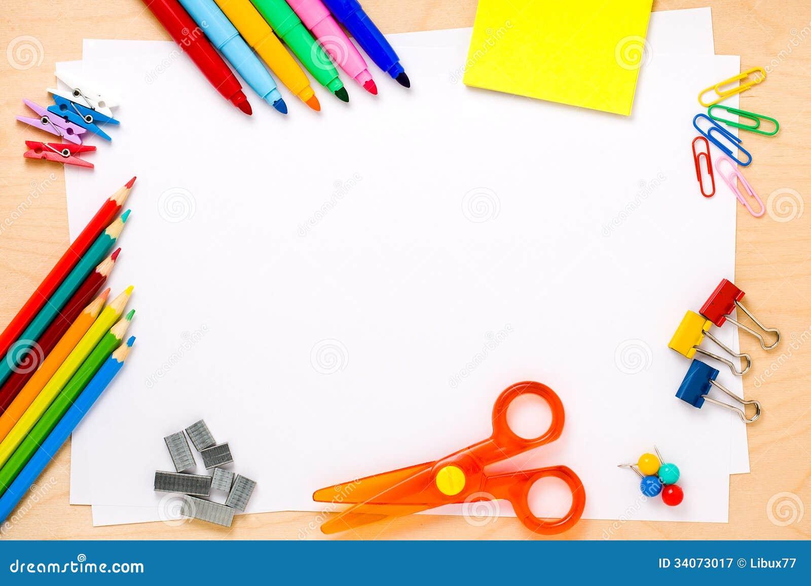 Fond Copyspace de cadre d école