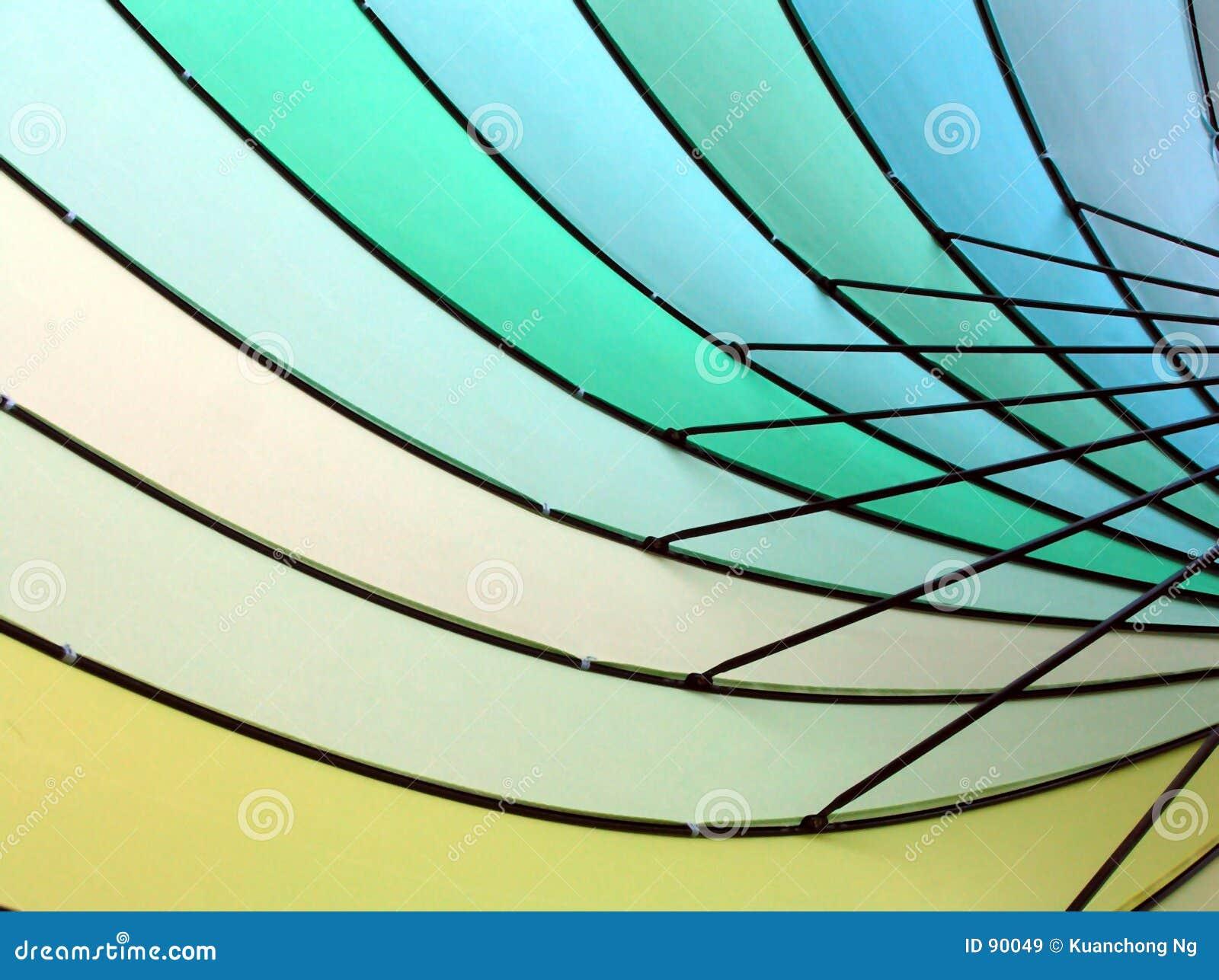 Fond - couleurs et lignes