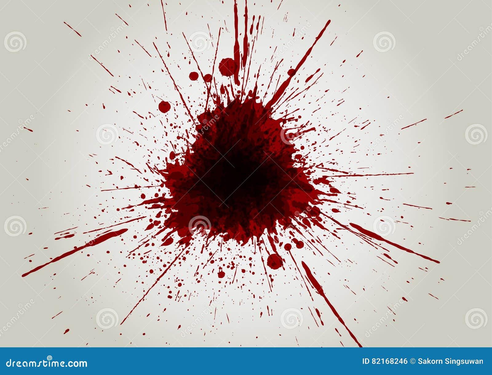 Fond D'éclaboussure De Couleur De Sang De Vecteur Desi D