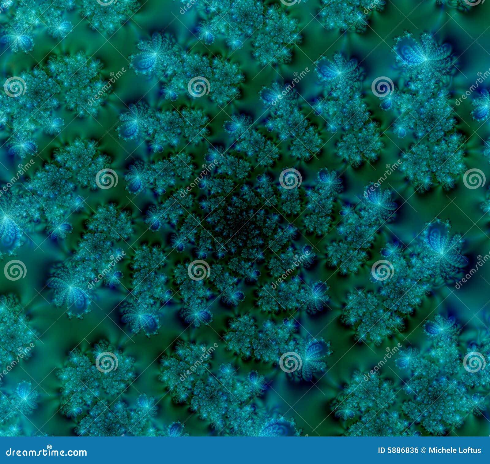 Fond d abrégé sur vert bleu