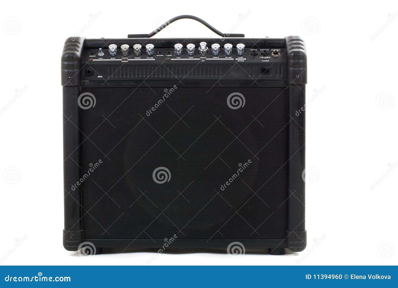 Fond d ampère de guitare