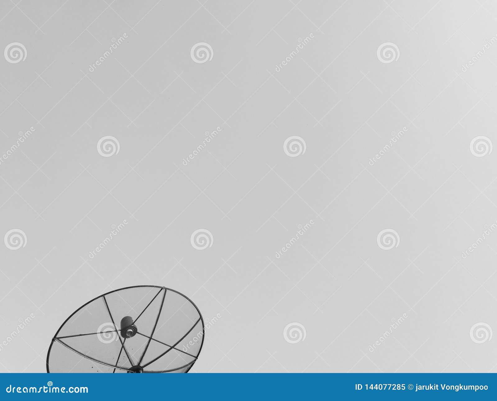 Fond d antenne parabolique
