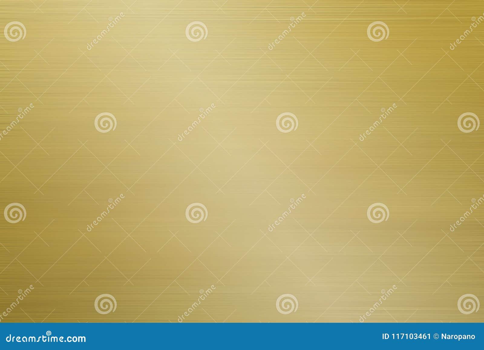 Fond d or balayé par aluminium