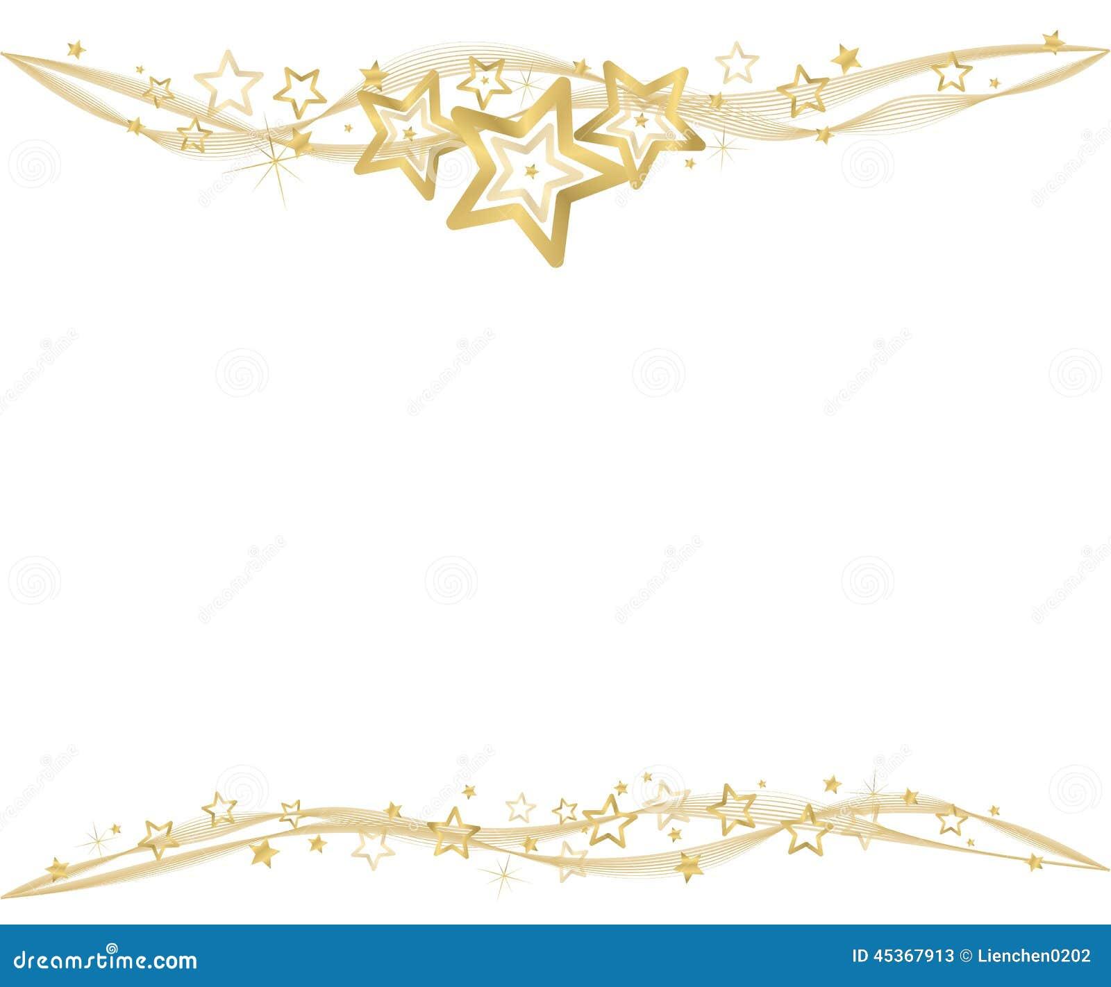 Fond d or de Noël