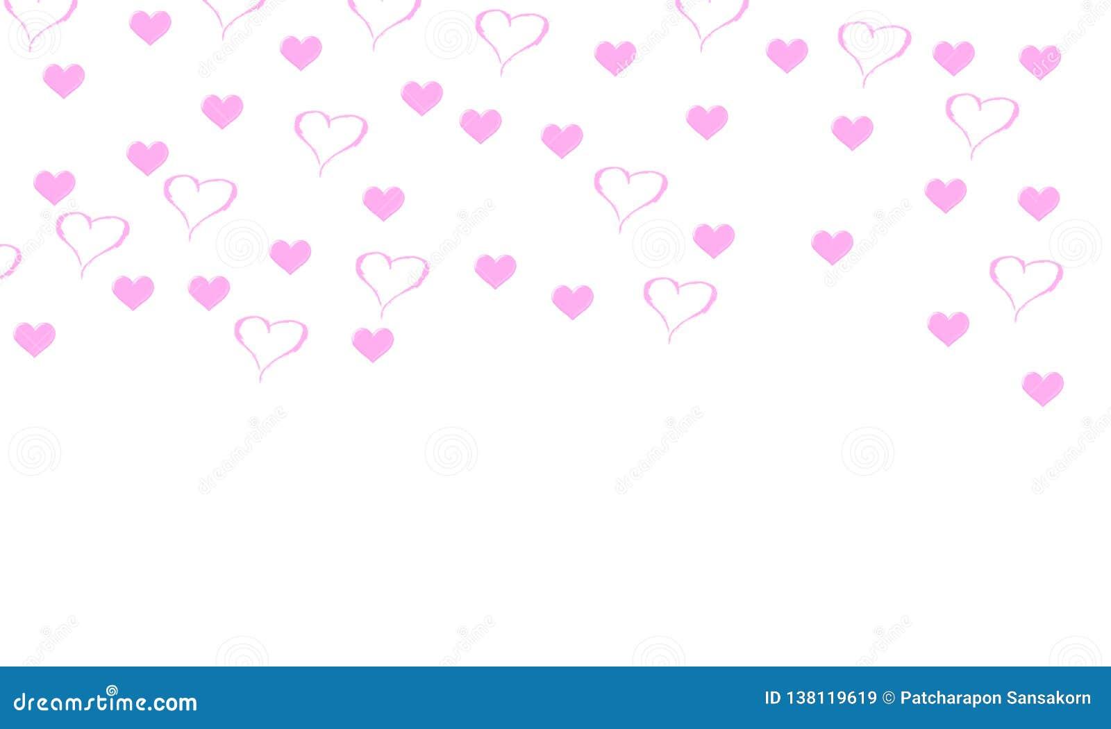 Fond d illustration de Saint-Valentin