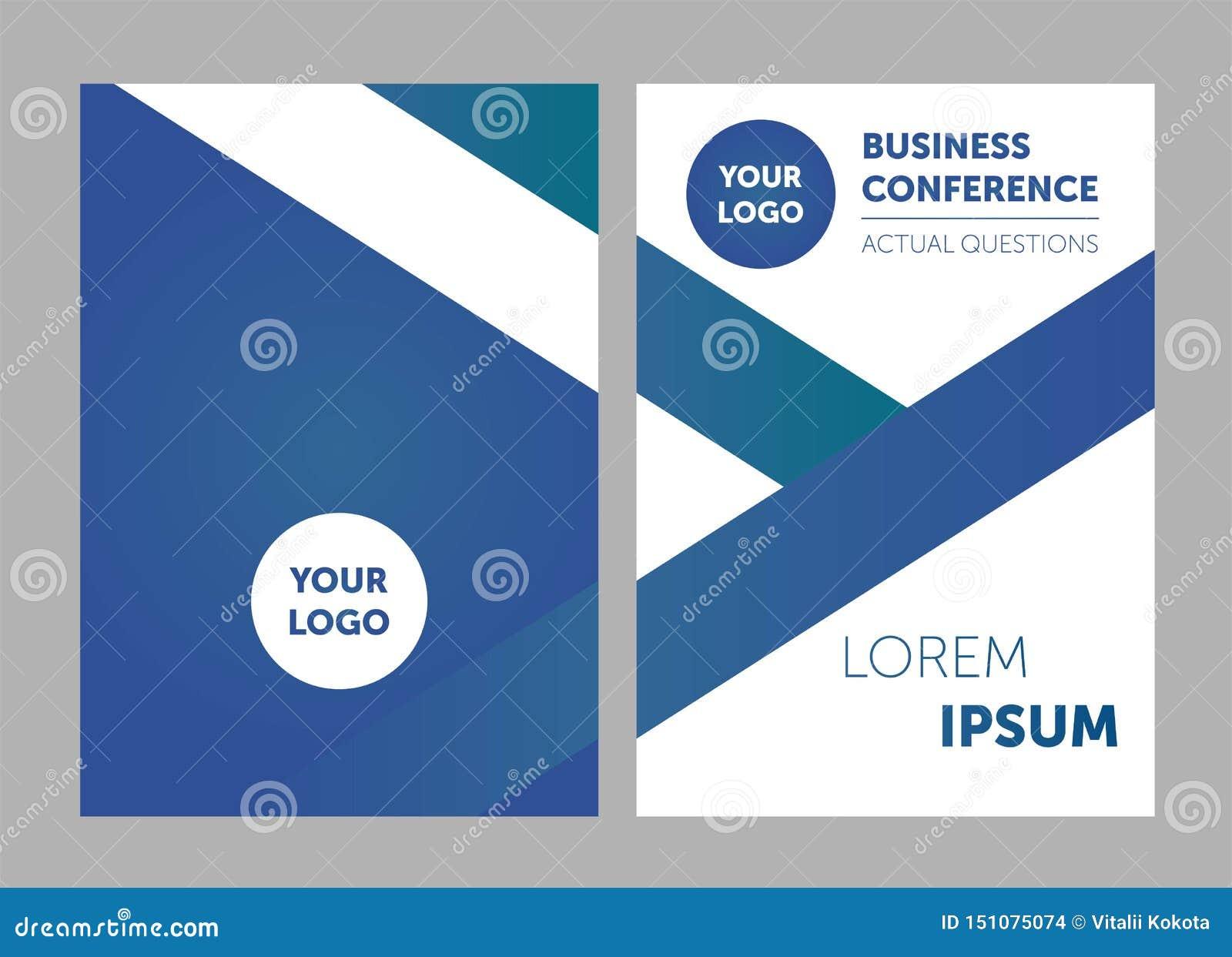 Fond d insecte de calibre de brochure pour le design d entreprise