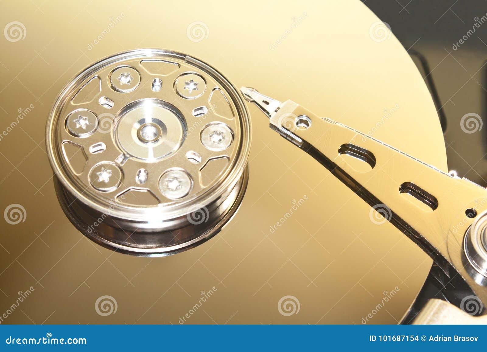 Fond d unité de disque dur