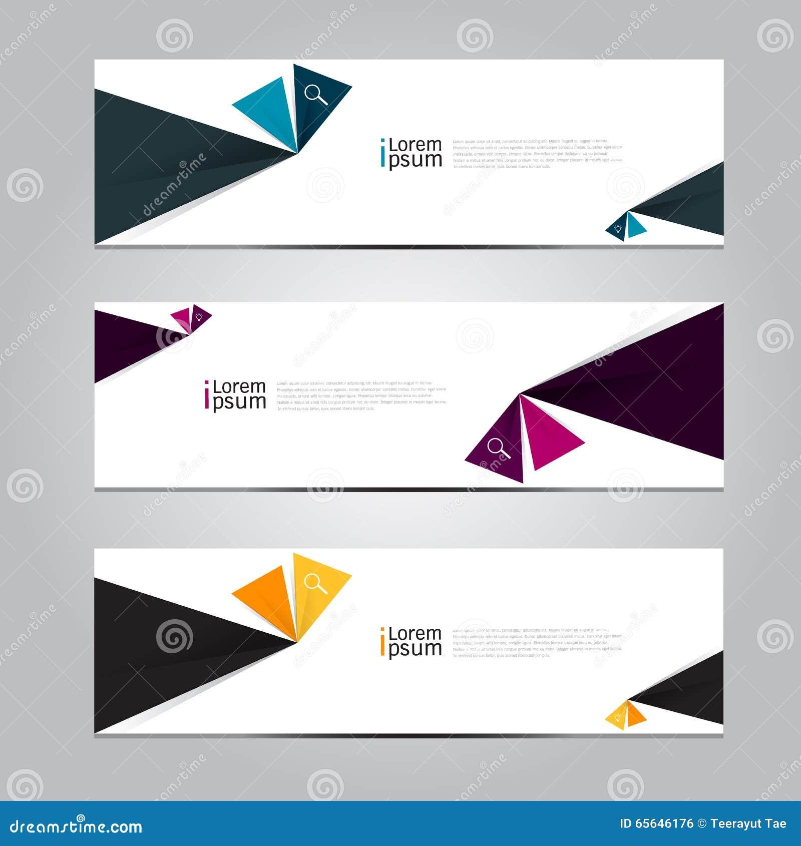Fond de bannière de conception de vecteur