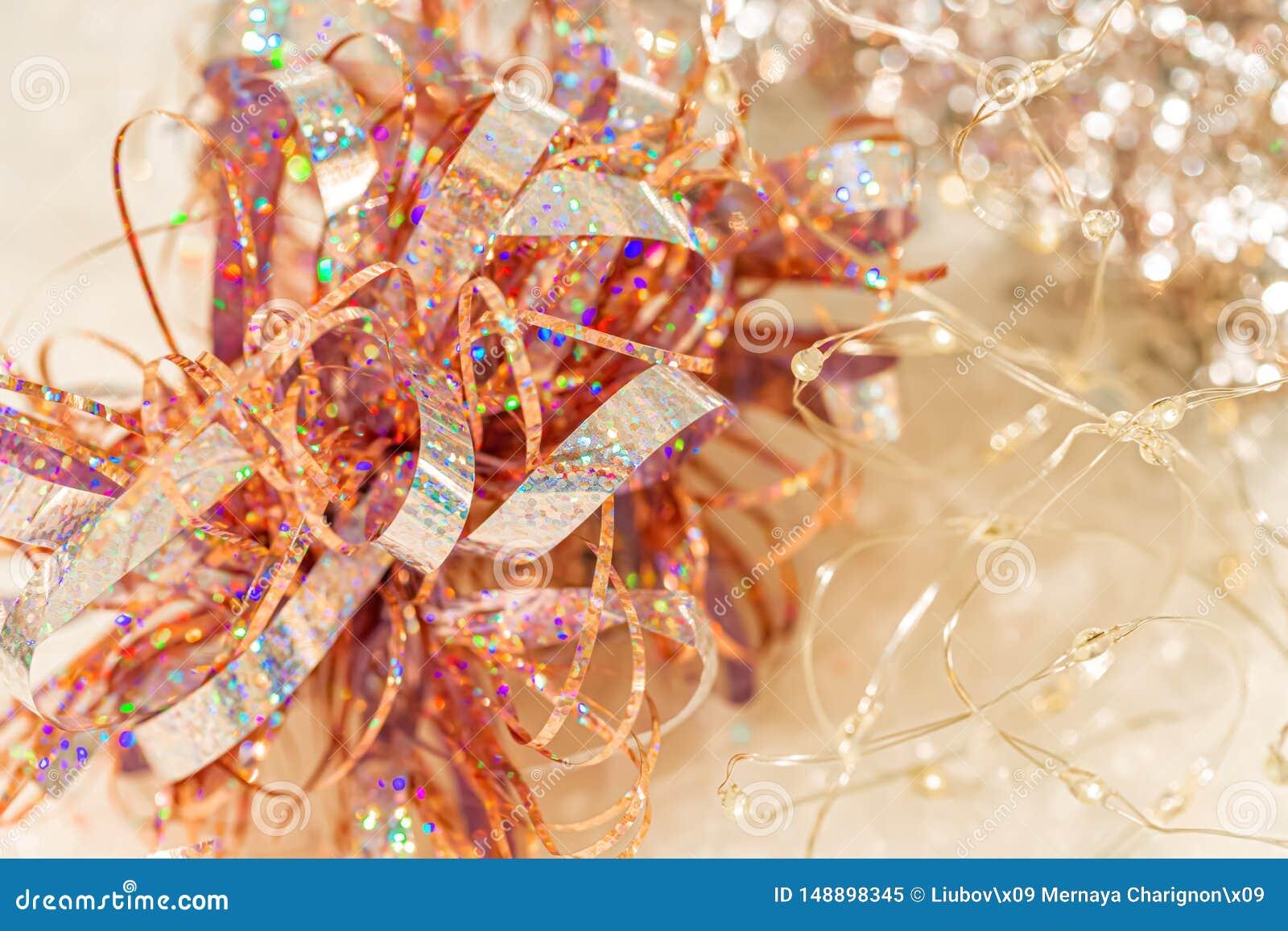 Fond de bokeh color? de texture de tache floue pendant le festival et la nouvelle ann?e Jeu de couleur Contexte éclatant de Noël