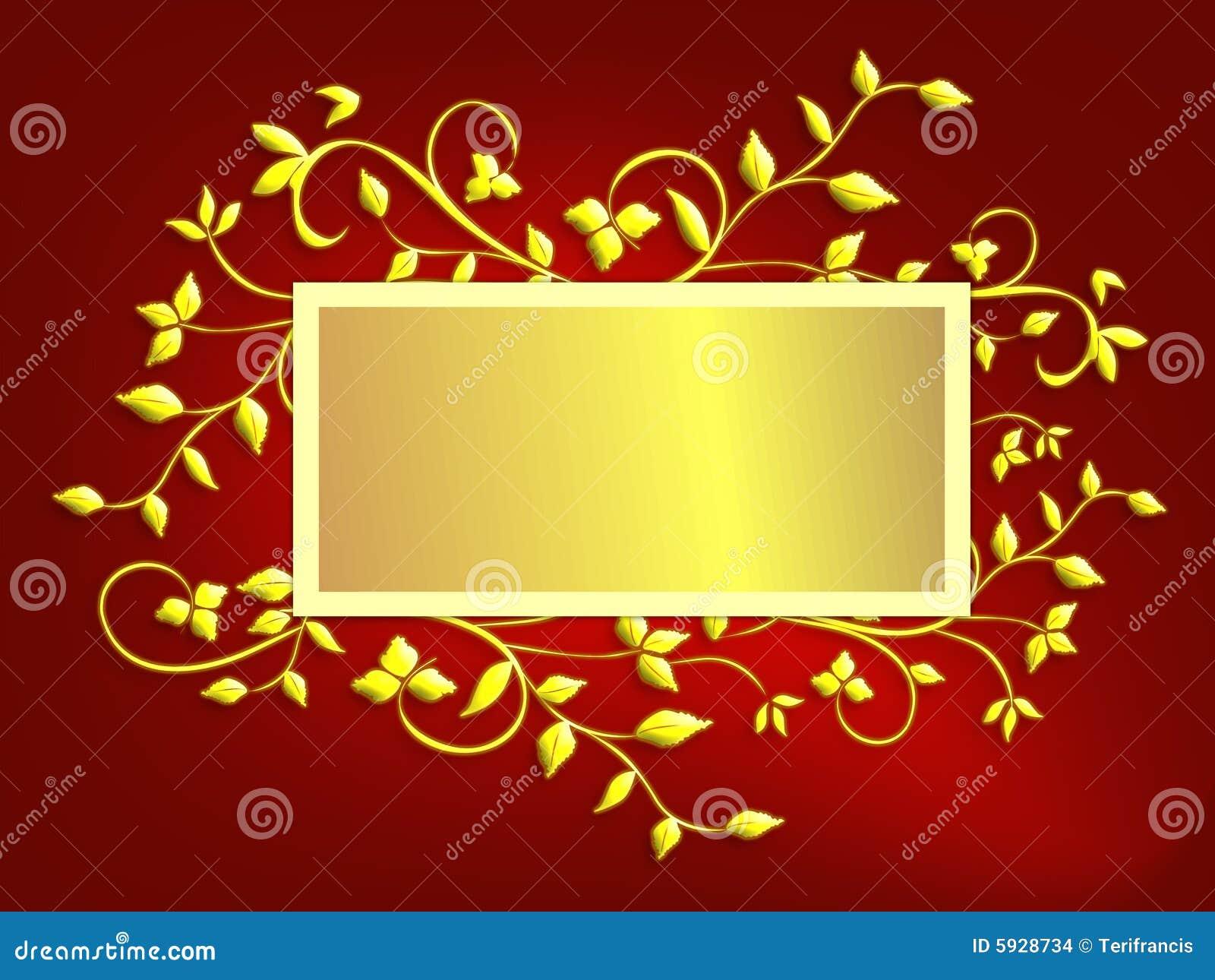 Fond De Carte De Noël Rouge Et stock Image