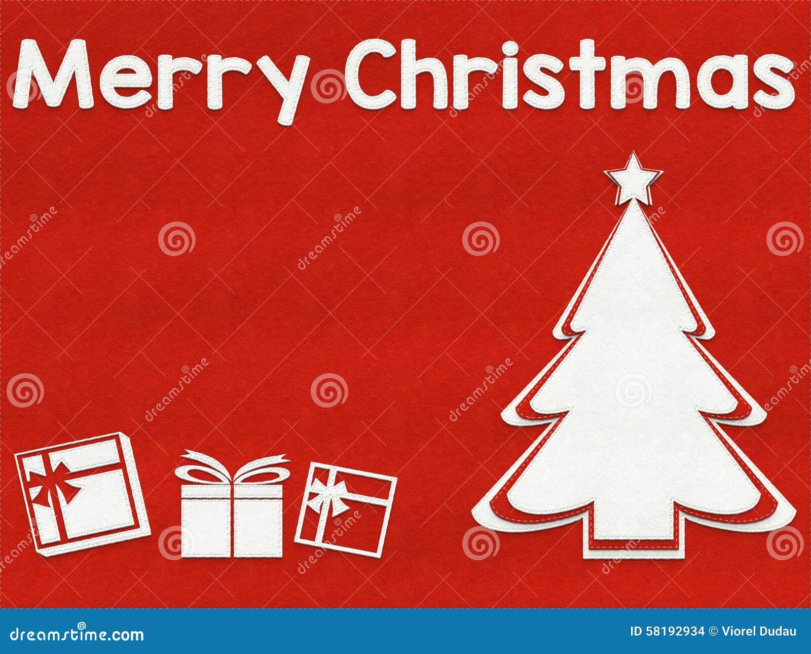 Fond de carte de voeux de Joyeux Noël