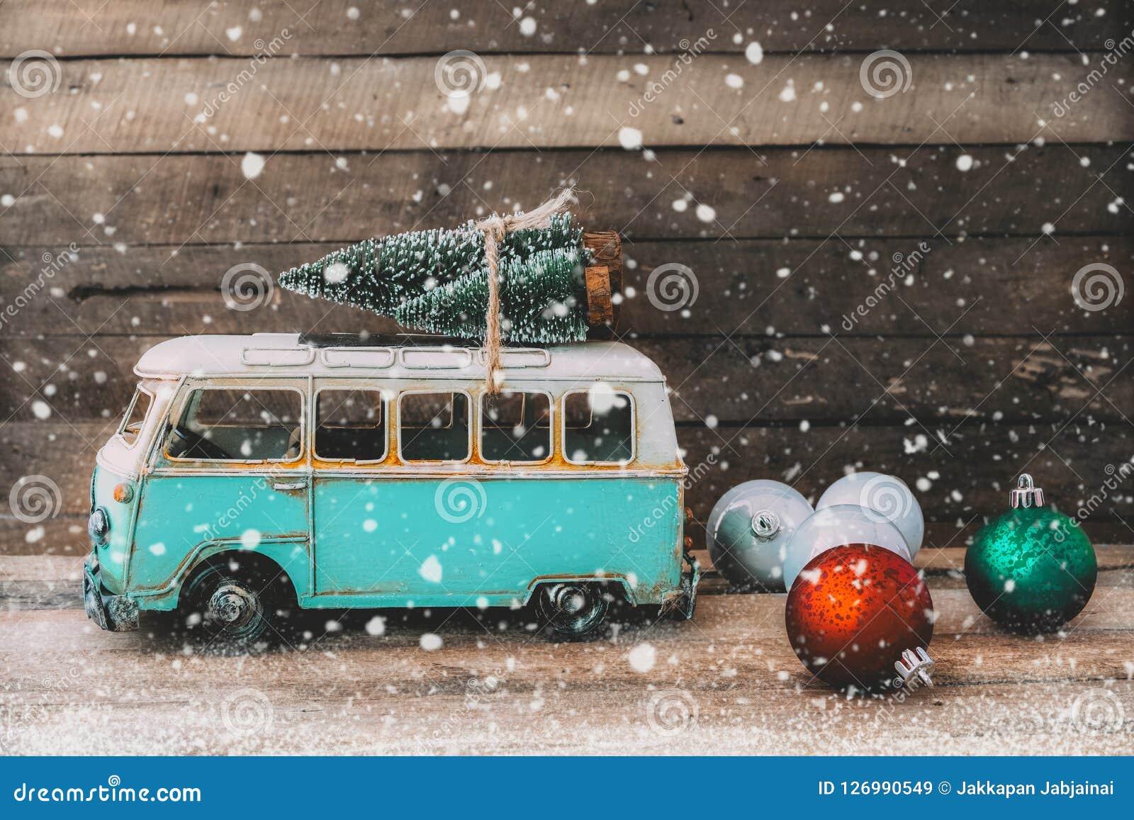 Fond de carte postale de Joyeux Noël de vintage