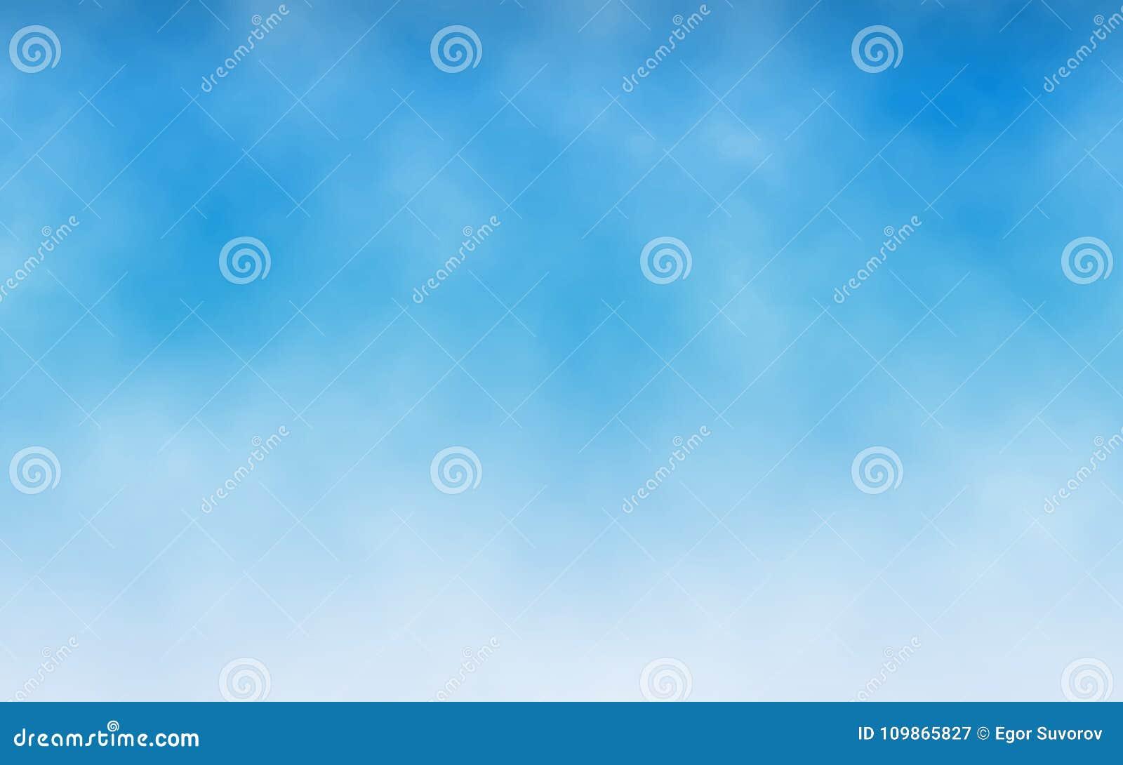 Fond de ciel Nuages blancs en ciel bleu Texture réaliste pour le site Web Contexte abstrait Conception minimaliste Vecteur