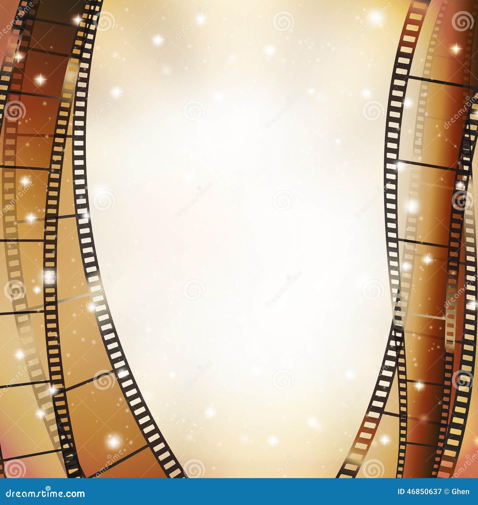 Fond de cinéma illustration de vecteur. Illustration du cinéma